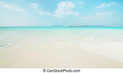 tropical beach - Hateno beach in Kumejima, Okinawa.