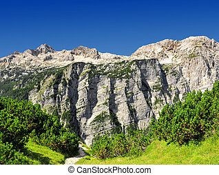 Julian Alps, Slovenia - Triglav National Park - Julian Alps,...