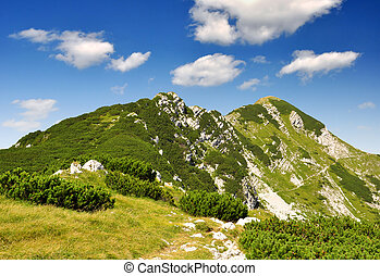 Julian Alps - Slovenia, Europe - mountain Sije in Julian...