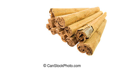 Cinnamon Stick - A group of dried cinnamon stick.