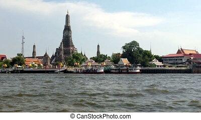 BANGKOK LANDMARK - TEMPLE OF DAWN - Wat Arun Temple (Temple...