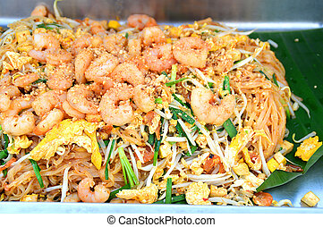 Thai noodle yummy padthai best food in Thailand