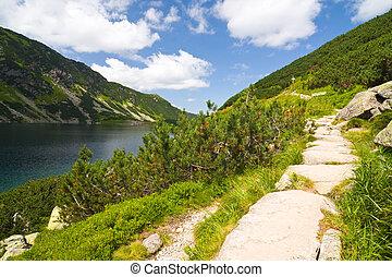 Czarny Staw Gasienicowy, Tatras Mountain, Poland