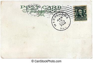 Benjamin Franklin Stamp, 1907