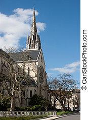 Church of St. Martin in Pau.