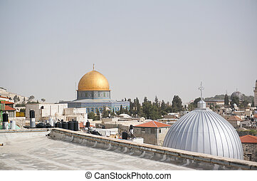 Mosques and churches in jerusalem