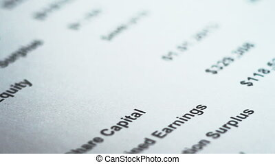 closeup of signature. shallow depth of field. signature is...