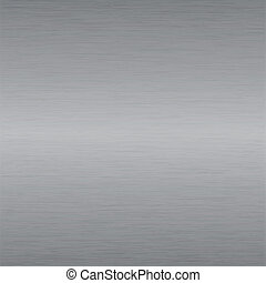 brushed steel plate - Metal background or texture of brushed...