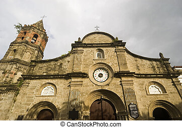 Church of Barasoain in Bulacan, North of Manila, Philippines