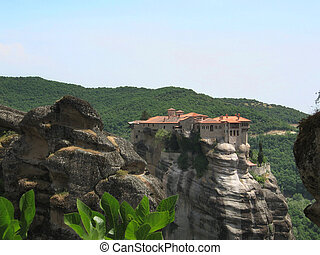 Meteora monestery in Greece