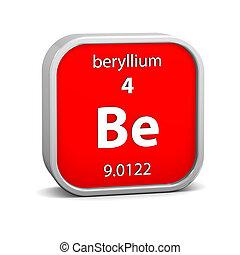 Beryllium, material, señal