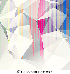multicolored abstract background of triangles