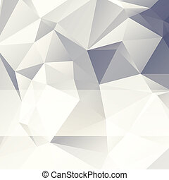 triangular style paper abstract background of triangles