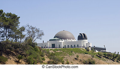 The Griffith Observatory in LSouthern California.