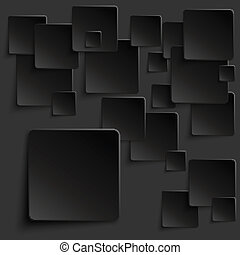 Black tiles abstract vector background eps10 vector...