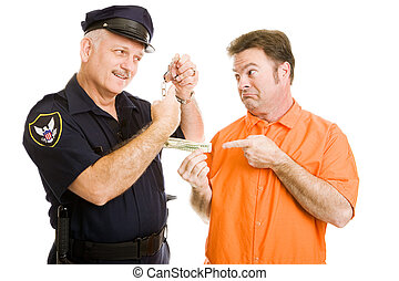 Police Officer Refuses Bribe - Prisoner offers policeman...