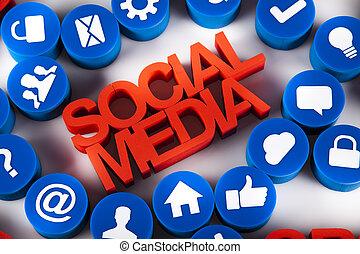 Social media,communication