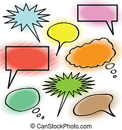 Thought Bubble Collection - A collection of thought bubbles...