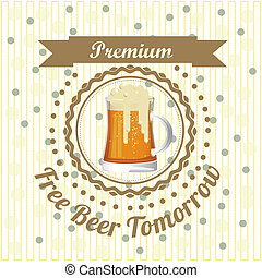 Beer Free label