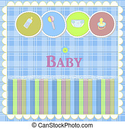 Baby card designs for birthday card