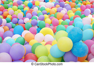 balloons - Background with the image of balloons