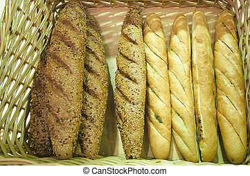 bread stick - The image of bread stick