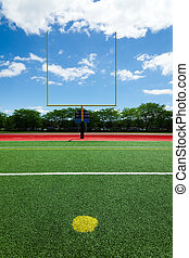 Football extra point - Football field