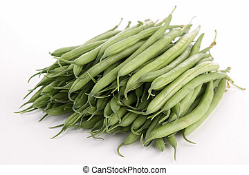 isolated green bean