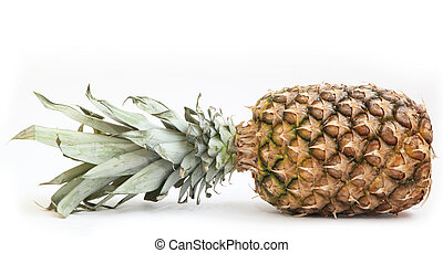ananas isolated on white background