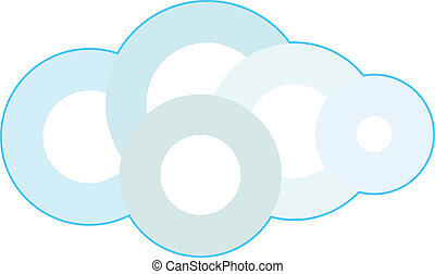 Cloud Technology Concept Illustration