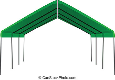 Large industrial shed for different weather conditions....