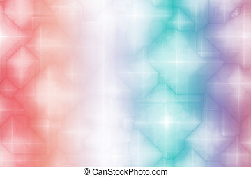 Gradient Rainbow Magical Fantasy Abstract Background Pattern