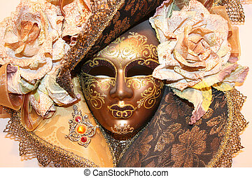Venice Mask - Mask that is used in the Venice festival in...
