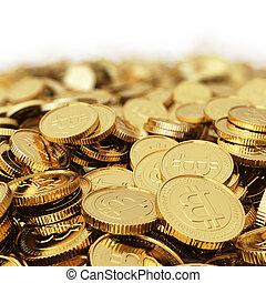 Golden Bitcoin digital currency bac - Golden Bitcoin...
