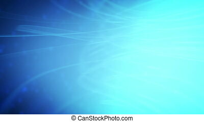 Blue Soft Particle Abstract Loop