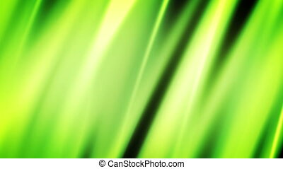 Green and Yellow Soft flowing Looping Animated Background