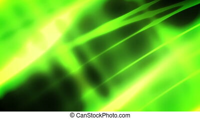 Green Soft Flow Looping Background