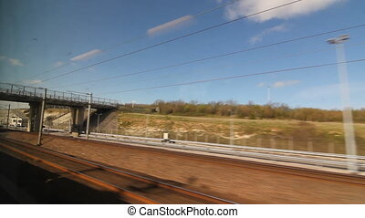 Eurostar in France before Chunnel - Travelling on a Eurostar...