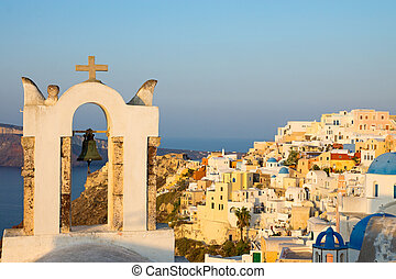 Oia in the morning sun
