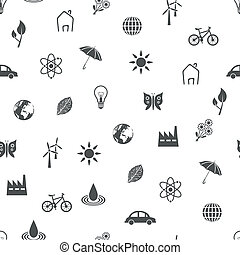 environment seamless pattern