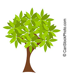 Vector tree - Symbolic tree with single leaves vector...