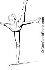 Beam Gymnast
