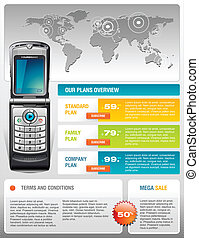 Mobile Cell Smart Phone Brochure