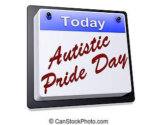 Autistic, Orgullo, día