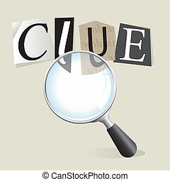 Searching for Clues - Finding a ransom note clue with a...