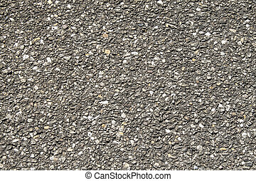 Blacktop Texture - Crisp close shot of old black top
