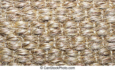 natural material weave of background