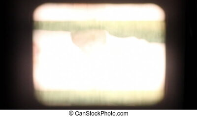 Flickering Film Frames - A collection of 8mm and 16mm film...
