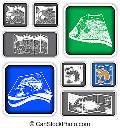map squared icons
