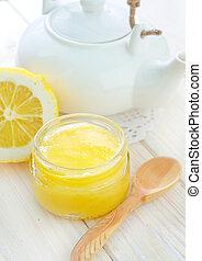 honey and lemons